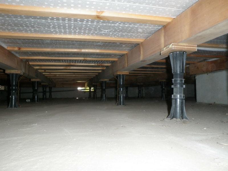 湿気対策が不要の床下