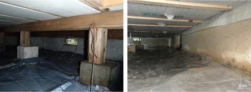 床下の防湿シート