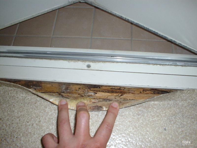 浴室のシロアリ被害