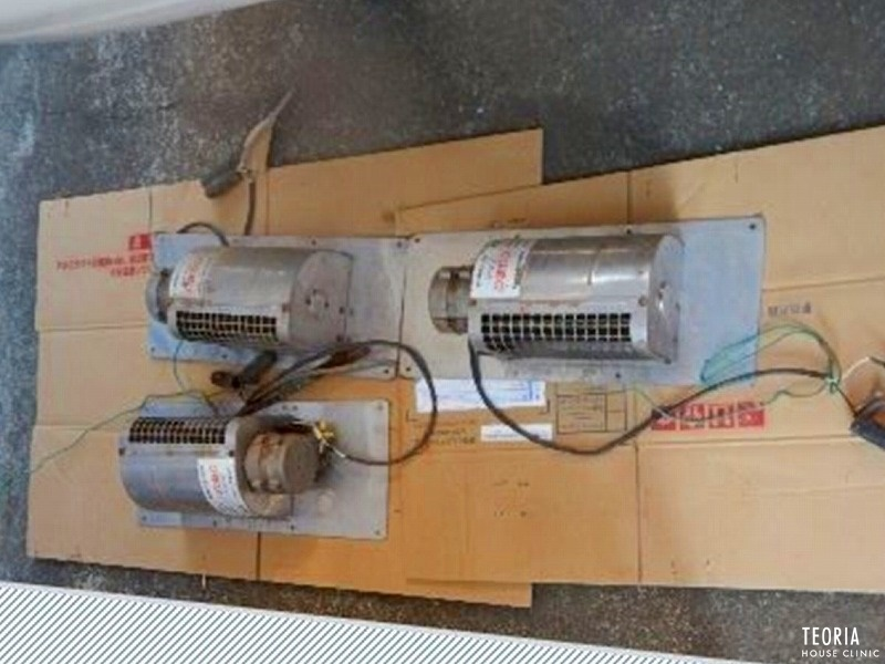旧型の床下換気扇