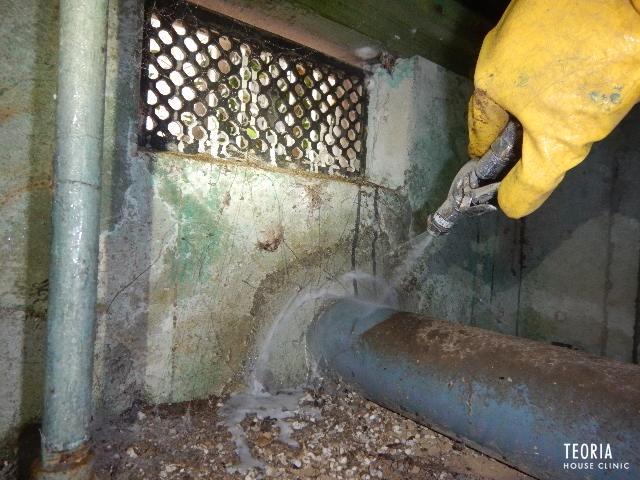 配管部分土壌処理